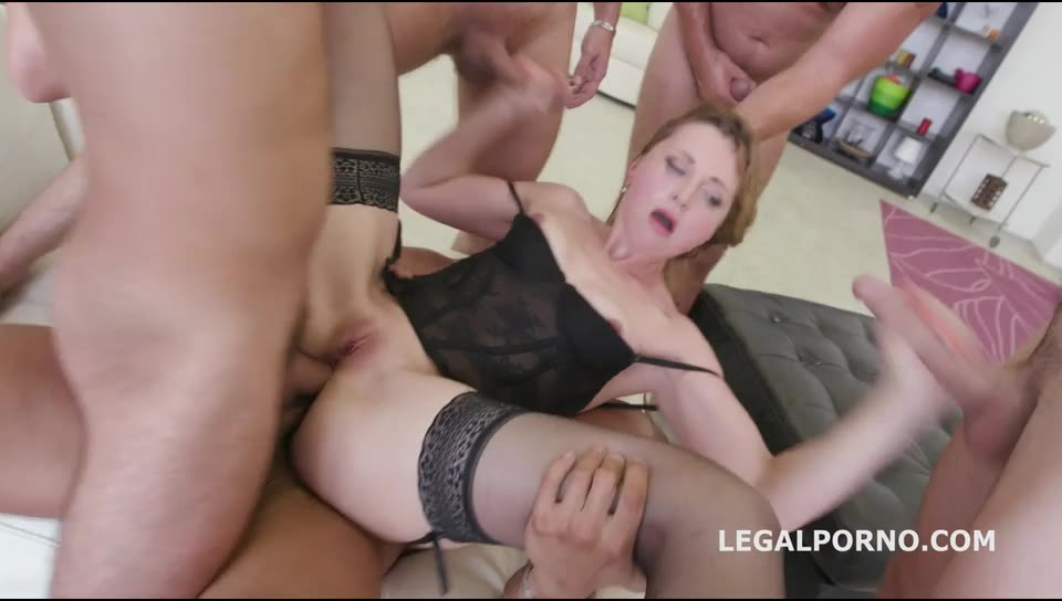 DAP /TP /Manhandle /Ball Deep /Gapes. New Milf Joins The Airline (LegalPorno) Cover Image
