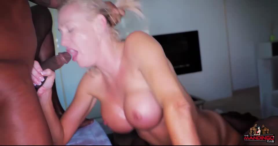 Unicorn Slut DP'd and Creampied by BBC (TheMandingoClub) Screenshot 4