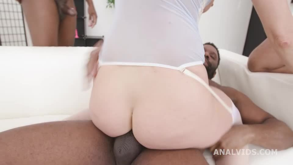 Black Pee Matters with Fisting, Vs 3 BBC with DAP, Gapes, ButtRose, Pee Drink, Creampie Swallow, Facial (LegalPorno / AnalVids) Screenshot 4