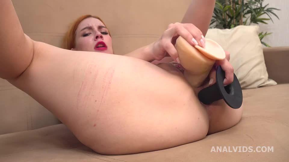 My first DP, Balls Deep Anal, DP, Gapes, Rough Sex and Cum in Mouth (LegalPorno) Screenshot 1