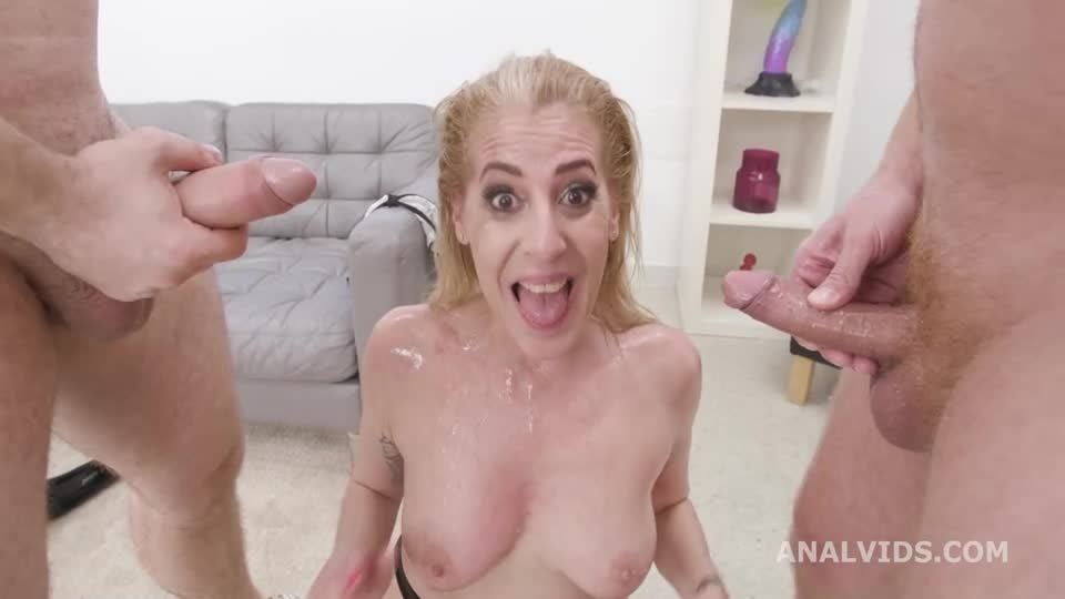Over and Wet, Balls Deep Anal, Pee Drink, First DAP and Swallow (LegalPorno / AnalVids) Screenshot 2