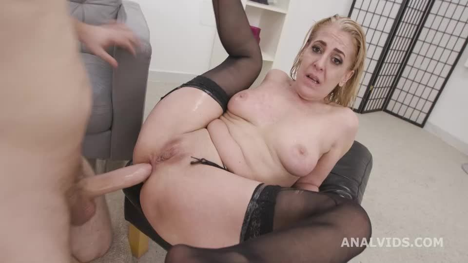 Over and Wet, Balls Deep Anal, Pee Drink, First DAP and Swallow (LegalPorno / AnalVids) Screenshot 5
