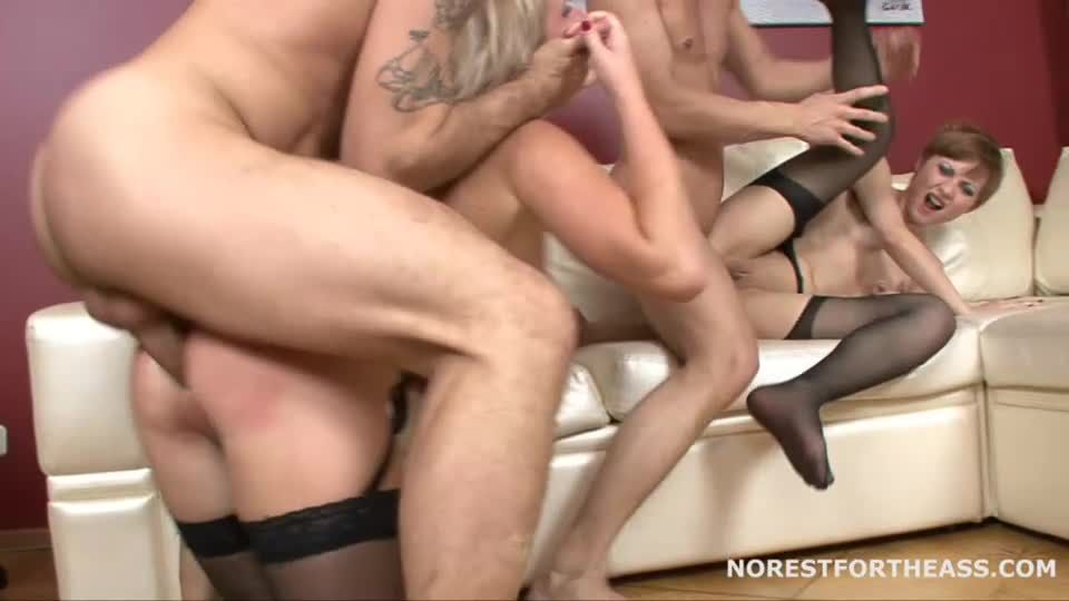 Double Anal Party (Norestfortheass) Screenshot 7