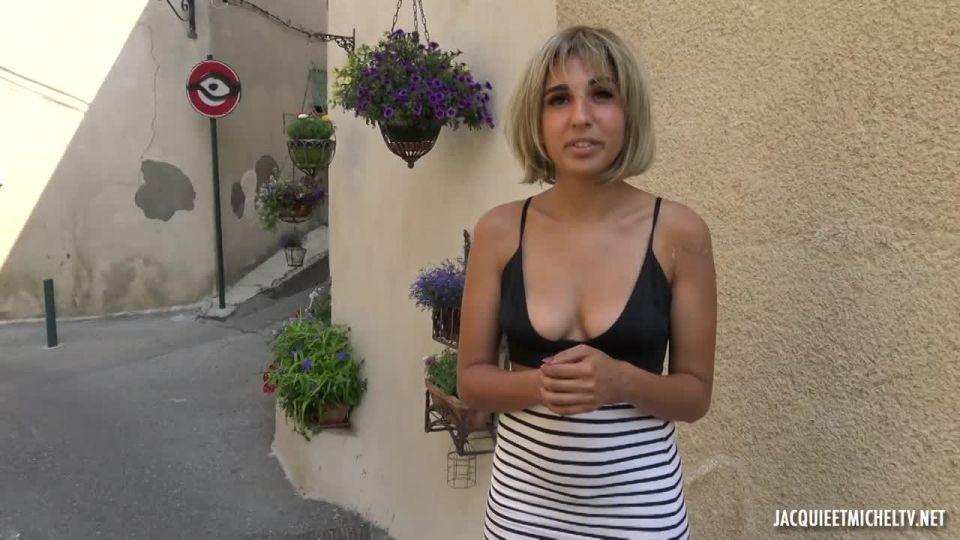 Assia's Destructive Gang Bang (JacquieEtMichelTV / Indecentes-Voisines) Screenshot 1