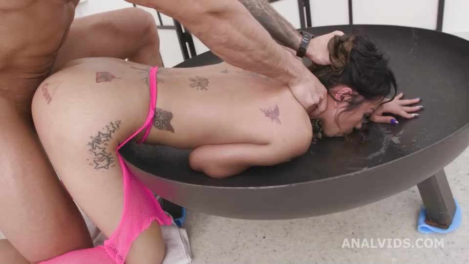[LegalPorno / AnalVids] Basined, Balls Deep Anal, DAP, Big Gapes, Almost Buttrose, Pee Drink and Creampie to Swallow - Jureka Del Mar (GangBang)/(Tattoo)
