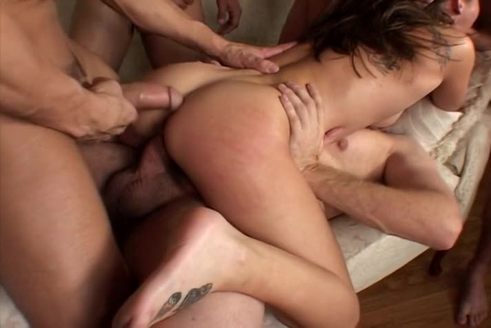 [Diabolic Video] Gangbang Auditions 19 - Roxy Jezel (DP)/(Tattoo)