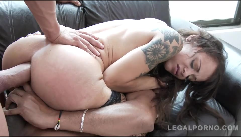 [LegalPorno] Ass fucked DPed & DAPed by two monster cocks - Holly Hendrix (DAP)/(Natural Tits)