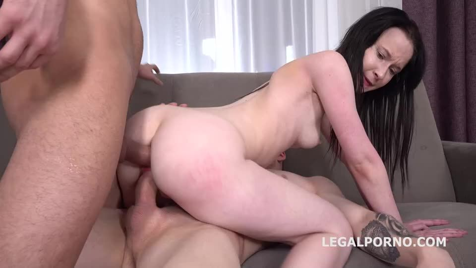 [LegalPorno] First Time DP with Rough Action, Balls Deep Anal, Gapes and Facial - Sweetie Plum (DP)/(Rough)