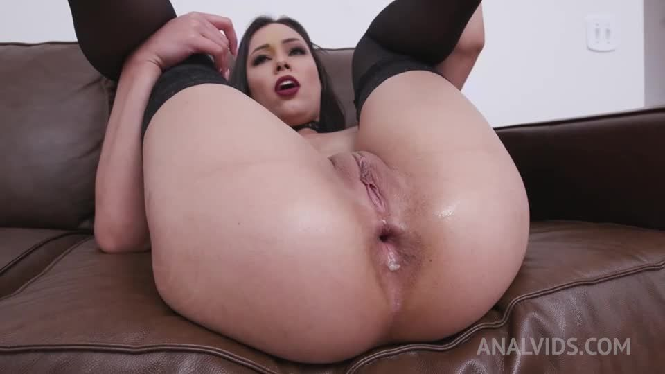 Assfucked hardcore with DP, DAP, Fisting and Creampie Swallow YE033 (LegalPorno / AnalVids) Screenshot 2