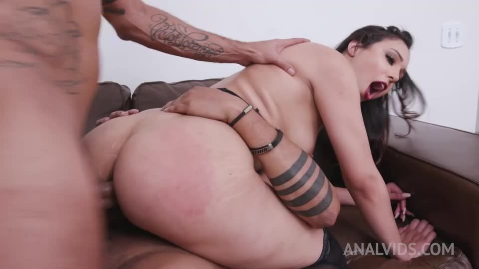 Assfucked hardcore with DP, DAP, Fisting and Creampie Swallow YE033 (LegalPorno / AnalVids) Screenshot 5