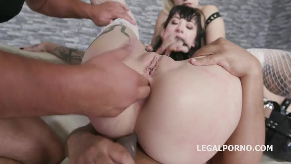 [LegalPorno] Mistress Domination, Fetish, Balls Deep Anal, DAP, Creampie Swallow - Angel Wicky, Charlotte Sartre (DAP)/(High Heels)