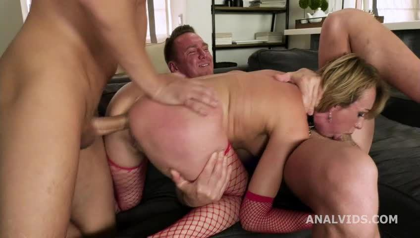 Wet Welcome to Porn with Balls Deep Anal, DP, Pee and Swallow (LegalPorno) Screenshot 1