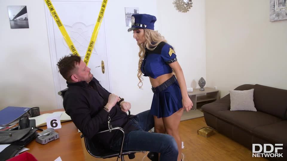 Sorry, I'M So Horny, Officer! (HandsOnHardcore / DDFNetwork) Screenshot 8