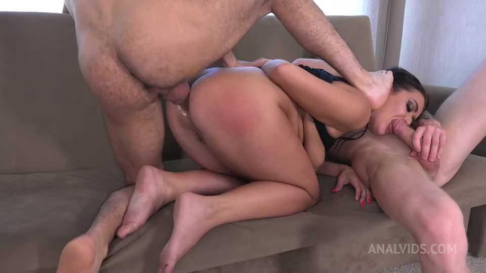 First DP For Chubby Mary Jane With Big Booty, Rimmjob And Cum In Mouth VG035 (LegalPorno) Screenshot 2
