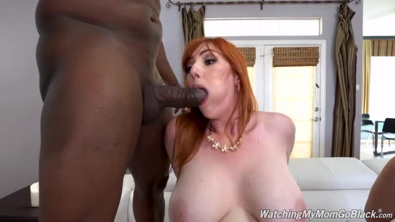 [WatchingMyMomGoBlack / DogFartNetwork] Two Big Black Cock - Spencer Bradley, Lauren Phillips (DP)/(Interracial)