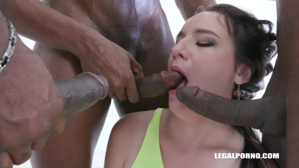 Goes for black cocks for the first time (LegalPorno) Cover Image