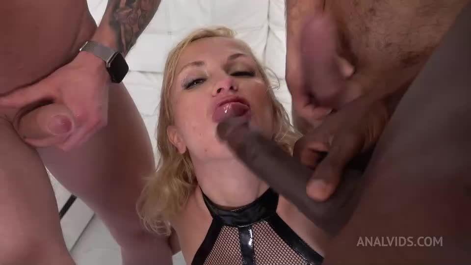 Hard Anal Fuck, Squirting, Black Cock, DPP (LegalPorno / AnalVids) Screenshot 9
