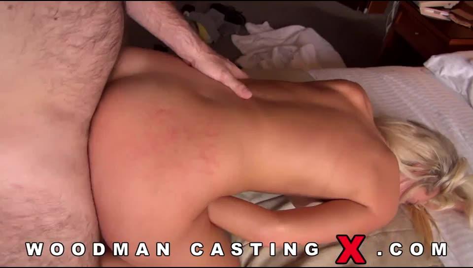 [WoodmanCastingX / PierreWoodman] Double Penentration - Jenny Simons (DP)/(Natural Tits)