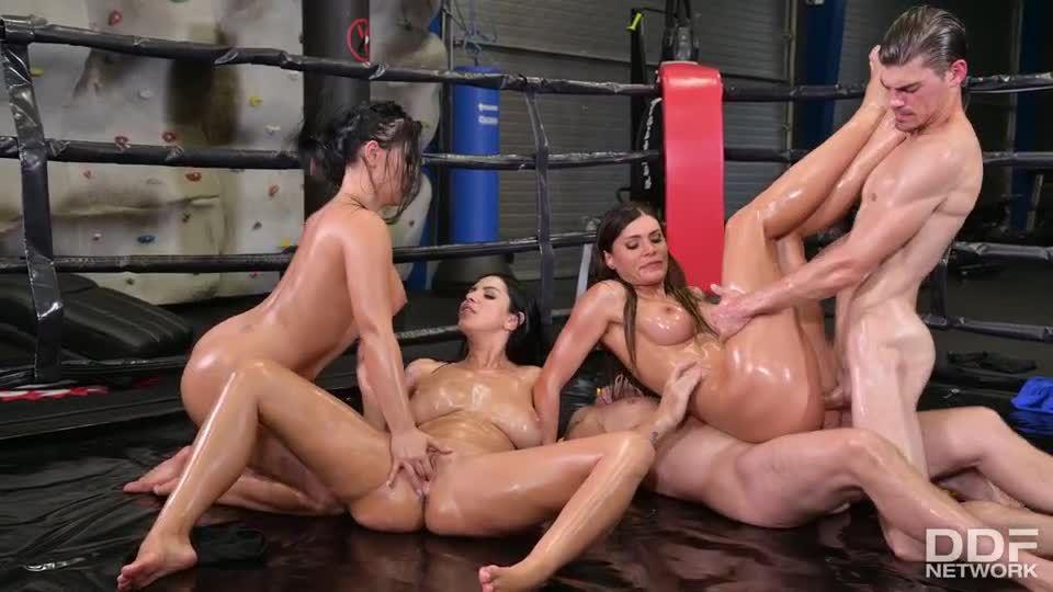 XXX Throwdown – Round 2 (DDFBusty / DDFNetwork / PornWorld) Screenshot 5