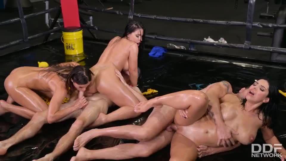 XXX Throwdown – Round 2 (DDFBusty / DDFNetwork / PornWorld) Screenshot 7