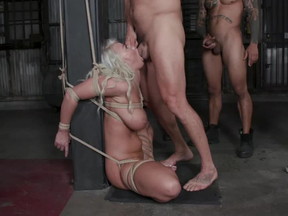 London's Stripper Fantasy GangBang: London Stuffed Airtight After Work (BoundGangBangs / Kink) Screenshot 2