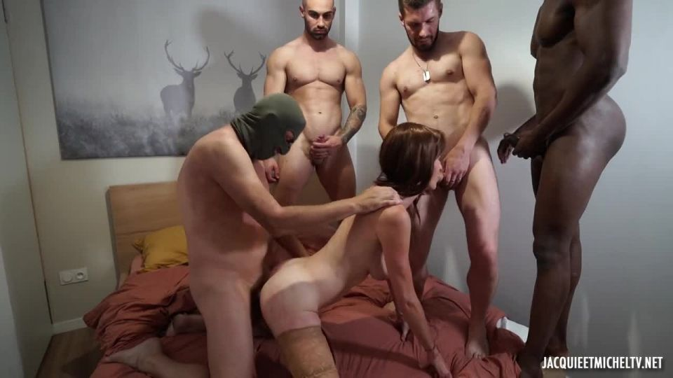 Anna Is Introduced To The Gang-Bang! (JacquieEtMichelTV / Indecentes-Voisines) Screenshot 5