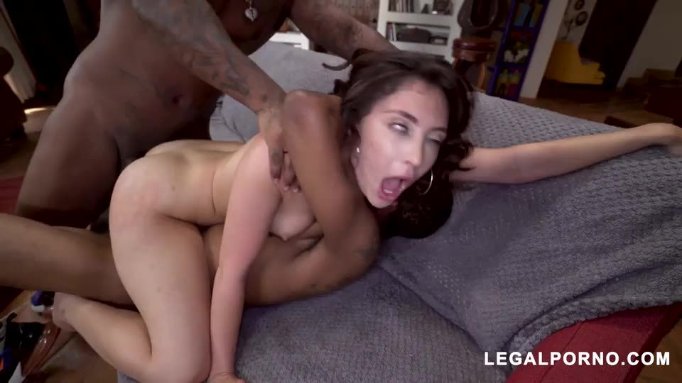 [LegalPorno] Ass better than pussy is back tacking two BBC with perfect gape - Jane Wilde (DP)/(High Heels)