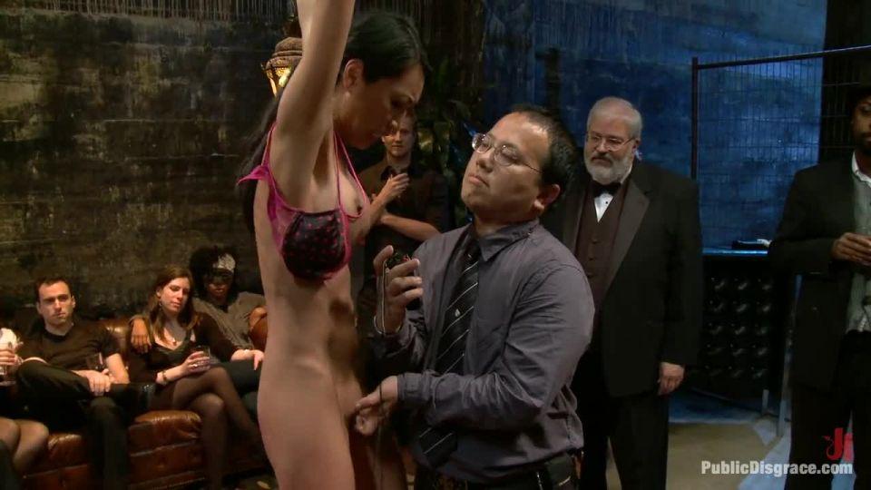 Tia Ling, Nat Turner and Brian Pumper (PublicDisgrace / Kink) Screenshot 1