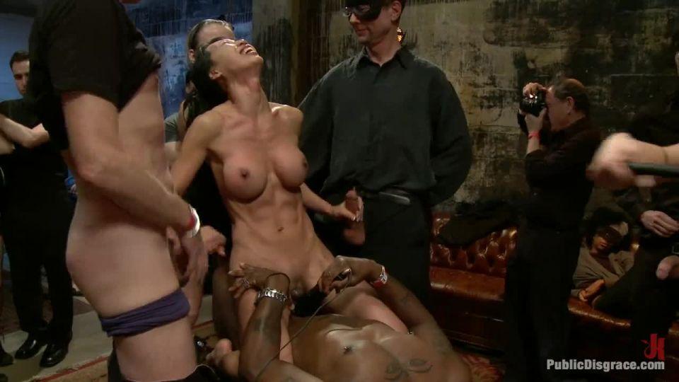 Tia Ling, Nat Turner and Brian Pumper (PublicDisgrace / Kink) Screenshot 7