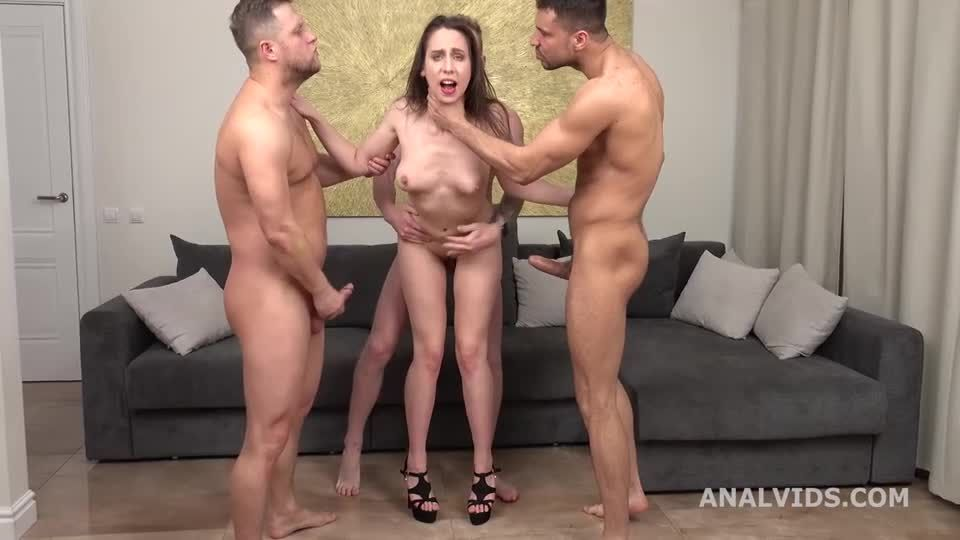 Russian Pee, rough DP, Manhandle, Pee Drink and Cumswallow (LegalPorno / AnalVids) Screenshot 6