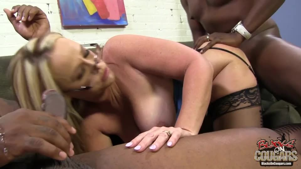[Hush Hush Entertainment] Blacks On Cougars 12 - Dee Siren (DP)/(Big Tits)