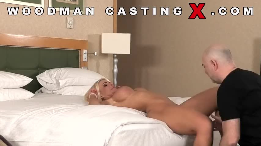 [WoodmanCastingX] Casting - Tiffany Rousso (DP)/(Blonde)