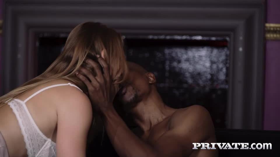 Stars In Interracial DP Threesome (PrivateStars / Private) Screenshot 1