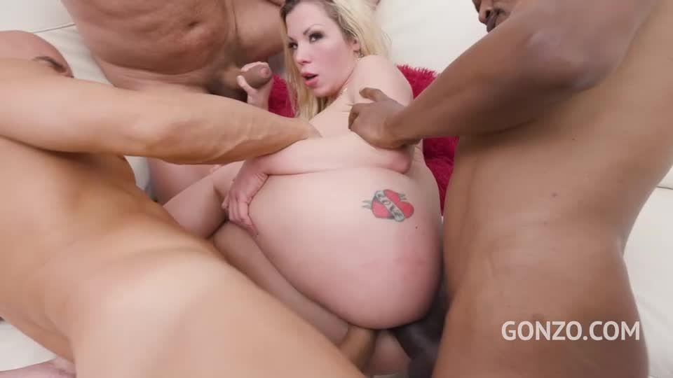 Hardcore slut punishment with DP, DAP and Piss Drinking (LegalPorno) Screenshot 7