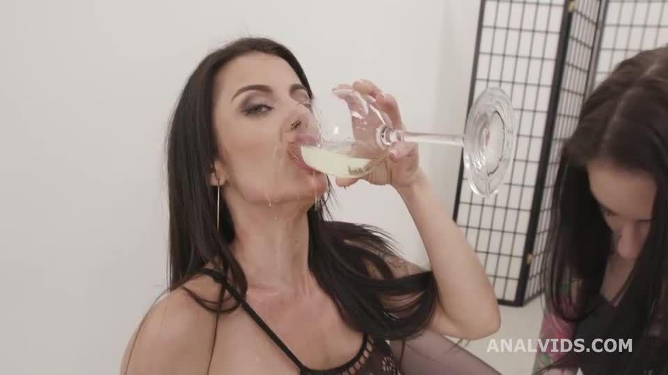 Thirsty Sluts #1 with Balls Deep Anal, DAP, ATOM, Gapes, Anal Fisting and Pee Drink (LegalPorno) Screenshot 0