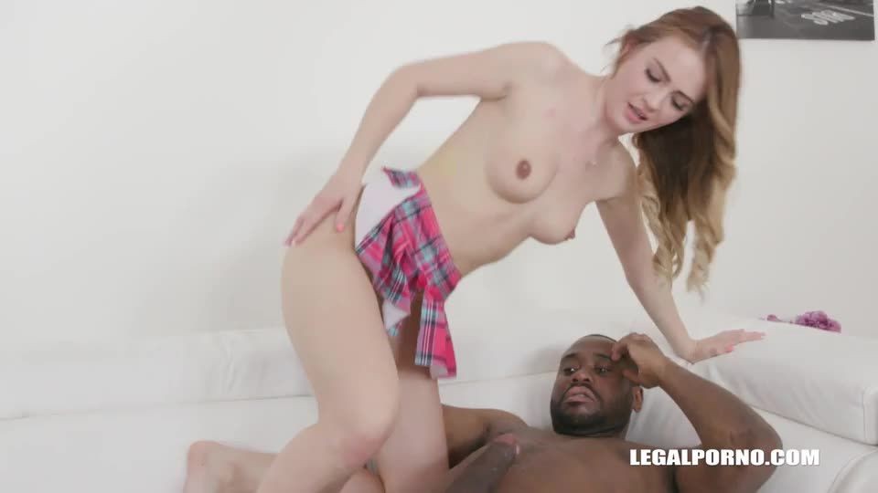 [LegalPorno] Back to try another two black cocks - Timea Bella (DAP)/(Natural Tits)