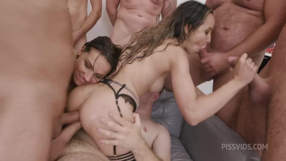 #2 Anal Fisting, ATOGM, DAP, Gapes, ButtRose, Pee Drink, Squirt, Cum in Mouth (LegalPorno / AnalVids) Screenshot 4