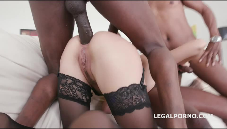 [LegalPorno] Black Buster, Mike Chapman & CO take care of Lexy Star for hard anal fucking and DP - Lexy Star (DP)/(Blonde)