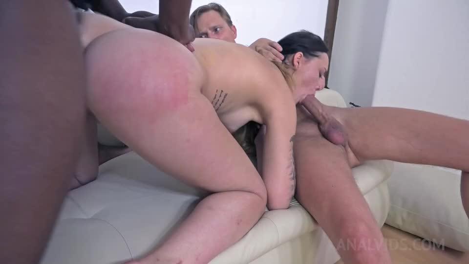 Assfucked and DAP'ed in hardcore BDSM threesome NF024 (LegalPorno) Cover Image