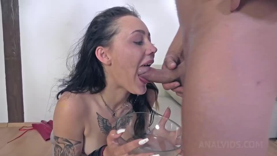 Assfucked and DAP'ed in hardcore BDSM threesome NF024 (LegalPorno) Screenshot 3