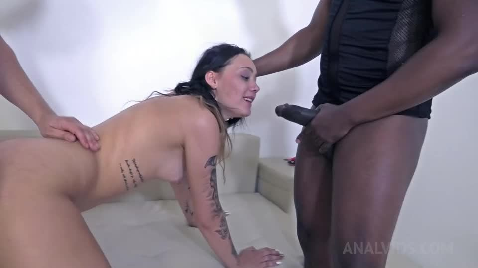 Assfucked and DAP'ed in hardcore BDSM threesome NF024 (LegalPorno) Screenshot 4