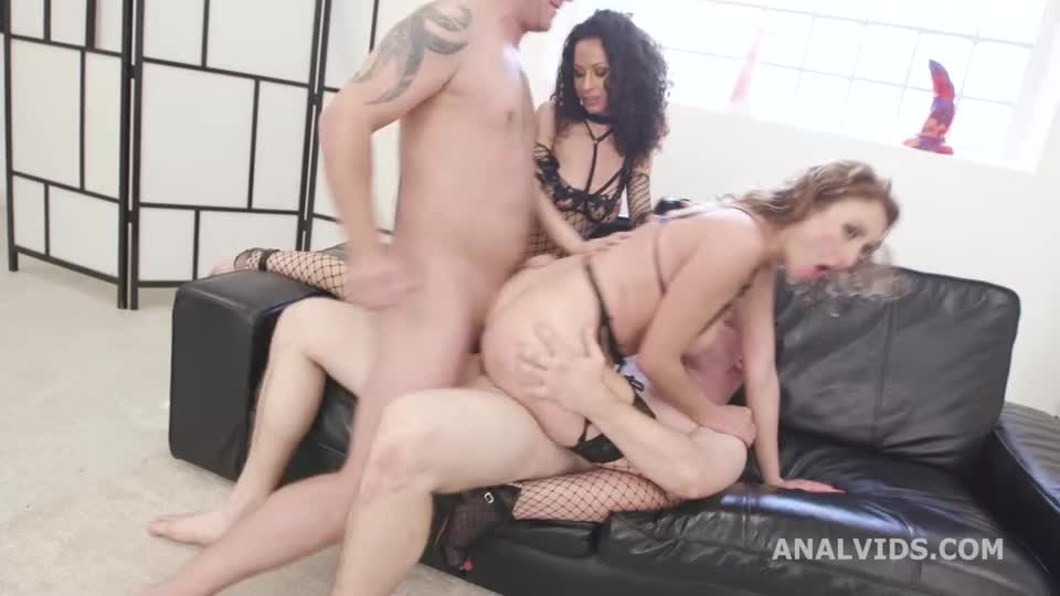 [LegalPorno / AnalVids] DAP and Fist wet #1, Anal Fisting, DAP, Big Gapes, Pee Drink, Prolapse, Creampie Swallow - Stacy Bloom, Julia North (DAP)/(Natural Tits)