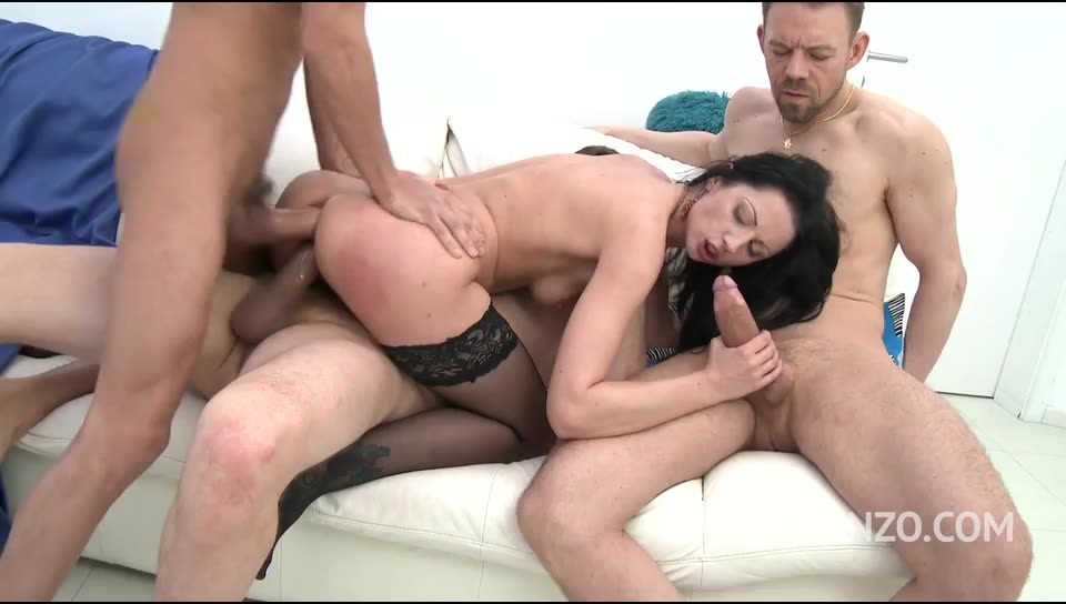 [LegalPorno] No holes barred fuck session with DP, DAP & triple penetration - July Sun (GangBang)/(Natural Tits)