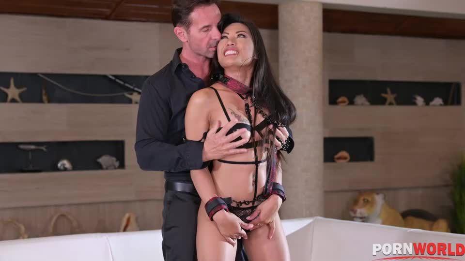 Interracial BDSM DP Punishment Ruins Slutty Asian Sub (HouseOfTaboo / PornWorld) Screenshot 0