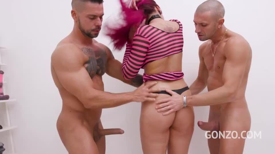 Piss drinking slut Jolee Love endures 8 DAP positions (LegalPorno / Gonzo) Screenshot 0