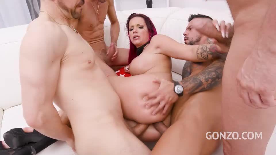 Piss drinking slut Jolee Love endures 8 DAP positions (LegalPorno / Gonzo) Screenshot 3