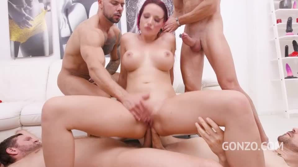 Piss drinking slut Jolee Love endures 8 DAP positions (LegalPorno / Gonzo) Screenshot 7
