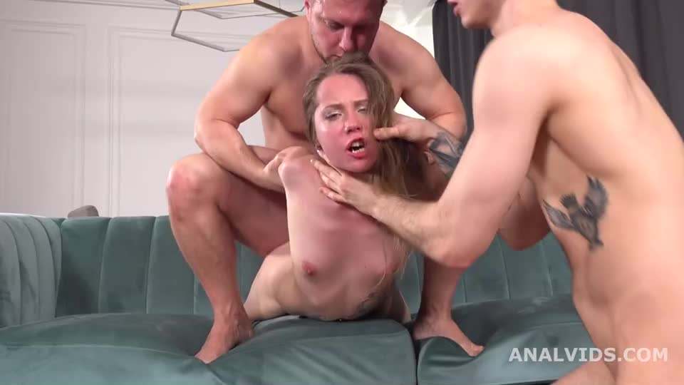 [LegalPorno] Balls Deep Anal, DAP, Gapes, Manhandle and Swallow - Stasia Si (DAP)/(Brunette)