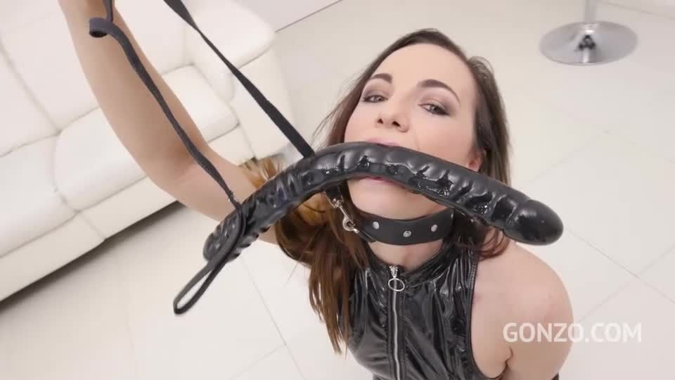 5 BBC with DP, DAP, DVP, anal rimming and creampie eating (LegalPorno / Gonzo) Screenshot 0