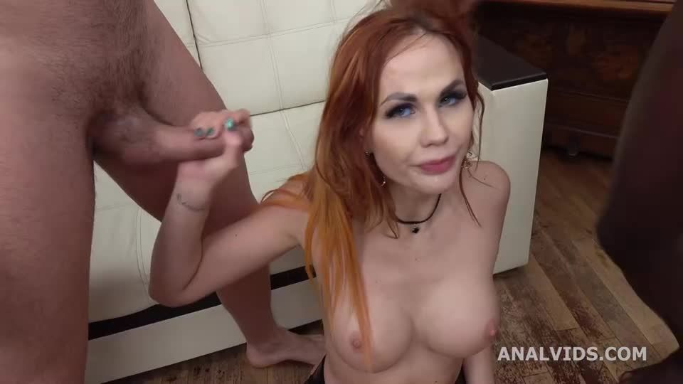 DAP Destination, Finally gets DAP-ed with Balls Deep Anal, Good Gapes and Cum in Mouth (LegalPorno / AnalVids) Screenshot 9